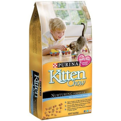 Purina Kitten Chow Nurturing Formula, 7-Pound Bag