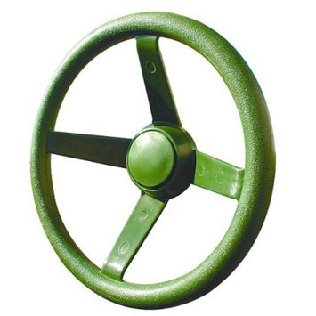 Gorilla Playsets Green Plastic Steering Wheel