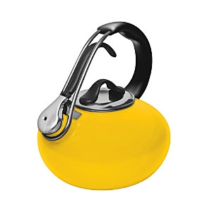 Chantal Golden Yellow 1.8-quart Classic Loop Enameled Steel Tea Kettle