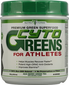 Allmax Nutrition CytoGreens, 60 Servings / ACAI BERRY GREEN TEA