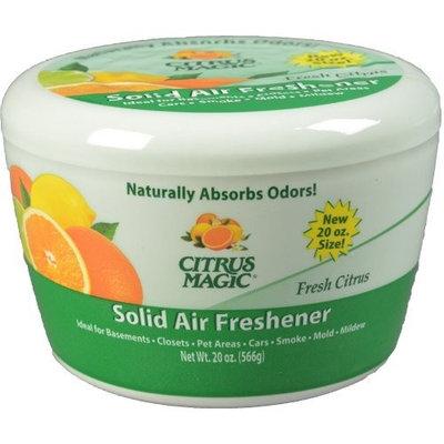 Citrus Magic Solid Odor Absorber, Fresh Citrus, 20-Ounce
