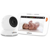 Levana Shiloh 5 Touchscreen High Definition Video Baby Monitor with Feeding and Temperature Alerts