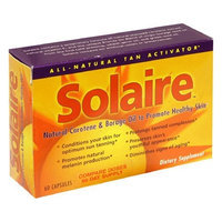 Solaire Natural Carotene & Borage Oil, to Promote Healthy Skin, 60 capsules
