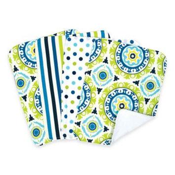 Waverly® by Trend Lab 4-pk. Burp Cloths