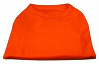 Ahi Plain Shirts Orange Lg (14)