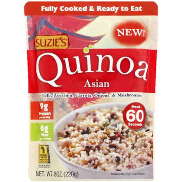 Suzies Suzie's Asian Quinoa, 8 oz, (Pack of 12)