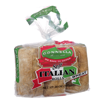 Gonnella Soft Italian Wheat Rolls - 6 CT