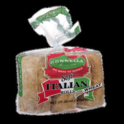 Gonnella Soft Italian Wheat Rolls - 6 CT