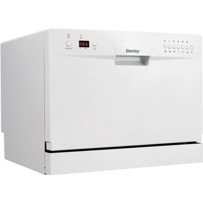 Danby DDW611WLED Countertop Dishwasher with 6 Place Setting