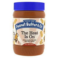 Peanut Butter & Co. Peanut Butter, The Heat is On, 16-Ounce Jars (Pack of 6)