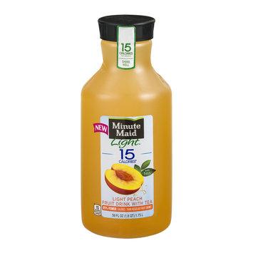 Minute Maid® Light 15 Calories Light Peach Fruit Drink With Tea