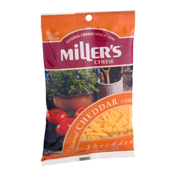 Miller's Cheese Cheddar Shredded