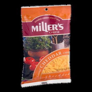 Miller's Cheese Cheddar Shredded