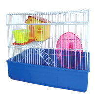YML 2 Level Blue Hamster Cage, 15