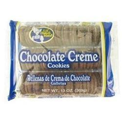 DDI Dutchmaid Chocolate Creme Sandwich Cookies Case of 12
