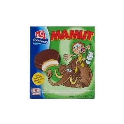 Gamesa Mamut Chocolate Marshmallow Cookies, 8.1 oz, - Pack of 12