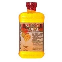 Dollaritem Wholesale Electrolyte Suero Oral 1Lt Mango -Sold by 1 Case of 8 Pieces