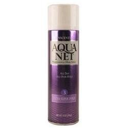 Aqua Net Extra Super Hold Hairspray, Unscented, 14 oz