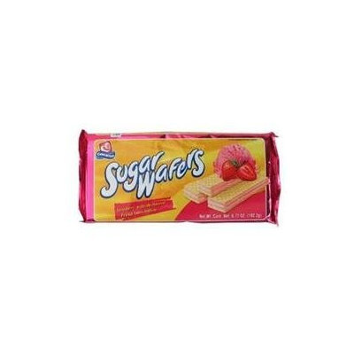Gamesa Strawberry Sugar Wafers - 12 Packages (6.7 oz ea)