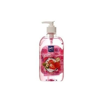 Wholesale Liquid Soap 14Z Strawberries #Lucky -Sold by 1 Case of 12 Pieces