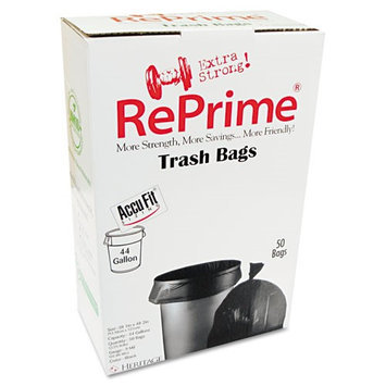 Reprime Black Can Liners, 44 gal, 50 ct