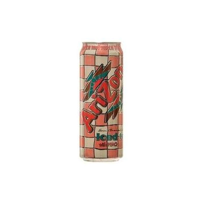 Dollaritem Wholesale Arizona Ice Tea Peach 23Z + Crv *1Y -Sold by 1 Case of 24 Pieces