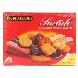 La Moderna Purtido Cookies Assortment - 10 Boxes (16 oz ea)