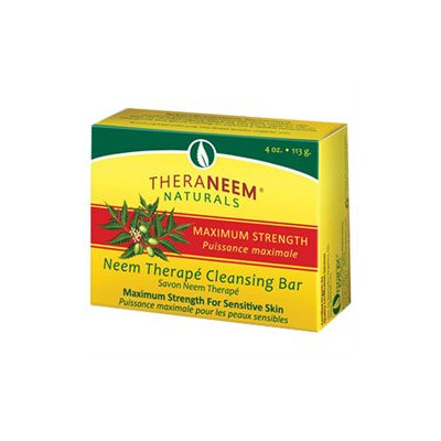 Organix South Inc Theraneem Maximum Strength Cleansing Bar - 4 Ounces Bar Soap - Soaps
