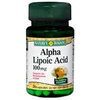 Natures Bounty Alpha Lipoic Acid 100mg Capsules, 30 Ea
