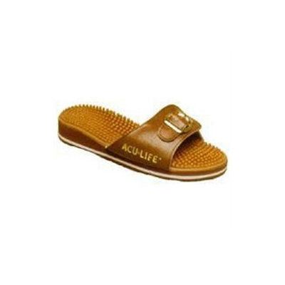 Acu Life Massage Sandals Brown With Buckle M8 - W9 1 Pair