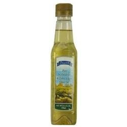 Pampa Oil Blend, Pure Soybean Extra Virgin Olive, 8.5 fl oz (250 ml) - TRANSNATIONAL FOODS, INC.