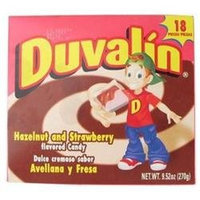 Duvalin Hazelnut and Strawberry Flavored Candy