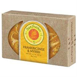 Sunfeather - Bar Soap Frankincense & Myrrh - 4.3 oz.