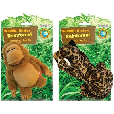 Sergeant's Pet Sergeant's Protected Wildlife Series Small Dog Toy