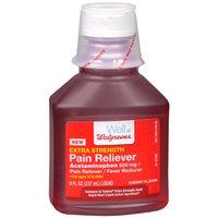 Walgreens Extra Strength Pain Reliever, Cherry, 8 oz