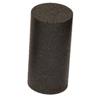 J-Fit Black High Density Foam Roller 12 inches