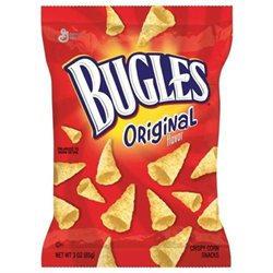 General Mills Bugles Original Peg 3 Oz(Case of 6)