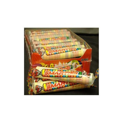 Smarties Mega Smarties Candy, 2.25 oz case of 24