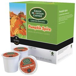 Keurig K-Cup Portion Pack Green Mountain Pumpkin Spice Coffee - 18-pk.