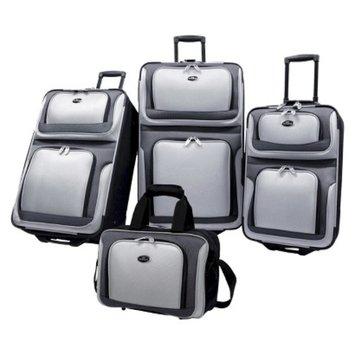 U.S. Traveler New Yorker 4-Piece Luggage Set