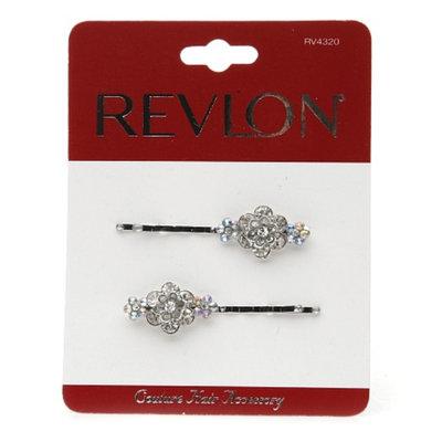 Revlon Slides With Flower & Stones