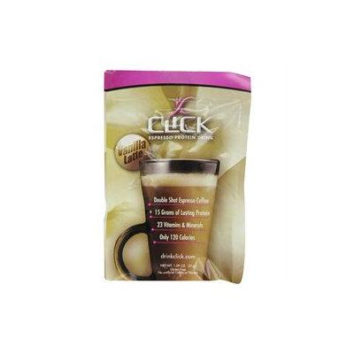 Click Espresso Protein Drink Vanilla Latte - 12 Servings