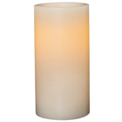Threshold 3x6 Wax Pillar With 5 Hour Timer - Cream