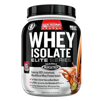 Six Star Professional Strength Whey Isolate Elite Series
