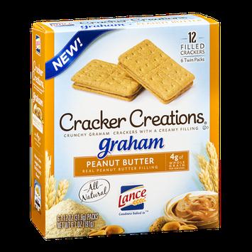 Lance Cracker Creations Graham Peanut Butter - 6 PK