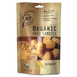 Peters Imports Inc Go Naturally Organic Ginger Hard Candy