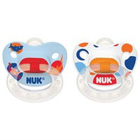Nuk Nuk Silicone Nature Pacifier - Size 2 - 2 pk - Girl