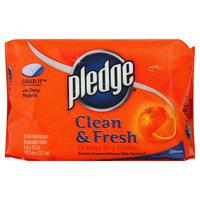 Pledge Grab It Dry Cloth, Clean & Fresh, Orange, 16 cloths