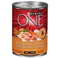 Phillips Feed & Pet Supply Purina ONE Wholesome Canned Dog Food Case Chicken