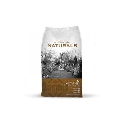 Diamond Naturals Active Cat - Chicken & Rice Formula 18Lb